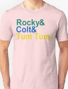 3 Ninjas Funny Geek Nerd T-Shirt