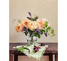 Harvest Bouquet Photographic Print