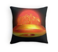Incendia -- Plasma Energy Generator Throw Pillow