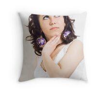 Santa Women Throw Pillow