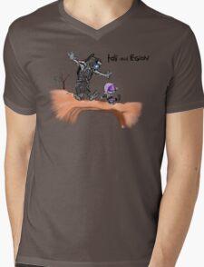 Tali and Legion Mens V-Neck T-Shirt