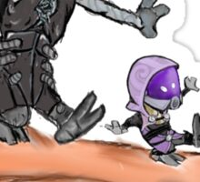 Tali and Legion Sticker