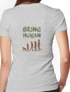 Being Human - Devolution Womens Fitted T-Shirt
