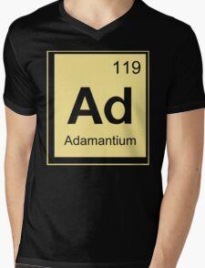 Adamantium Funny Geek Nerd Mens V-Neck T-Shirt
