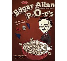 Once Upon a Breakfast Dreary - Edgar Allan P-O-e's  Photographic Print