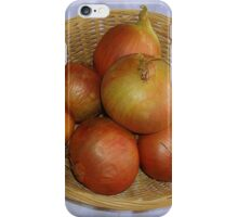 A Basket of Onions iPhone Case/Skin