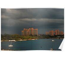Bad weather on Nassau Poster