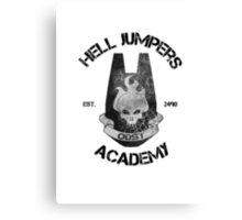 halo hell jumpers academy Canvas Print