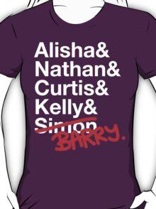 Alisha & Nathan & Curtis & Kelly & Simon from Misfits T-Shirt