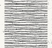 Hand Drawn Lines Print by Iveta Angelova