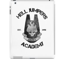 halo hell jumpers academy iPad Case/Skin