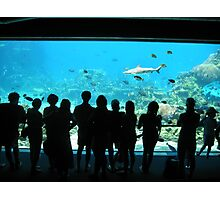Crowded People Photographic Print