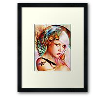 Astrid the Navigatrix Framed Print