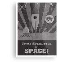 Space adventures, In Space!  Metal Print