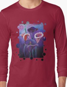 Purple Calla Flowers Long Sleeve T-Shirt