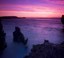 Rocky Dusk II by Paul Pichugin