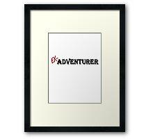 Ex-Adventurer Framed Print