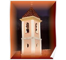 Magical bell tower Poster