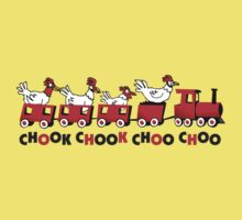 chicken choo choo Kids Tee