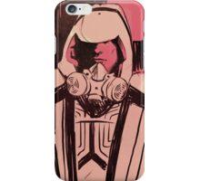 Tron Guard portrait iPhone Case/Skin