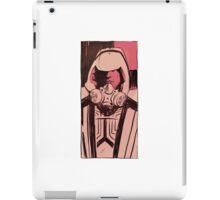 Tron Guard portrait iPad Case/Skin
