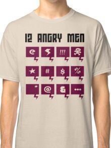 12 angry men Funny Geek Nerd Classic T-Shirt