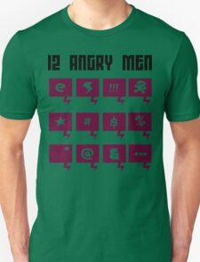 12 angry men Funny Geek Nerd Unisex T-Shirt