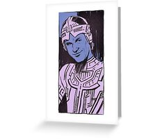 Flynn portrait Greeting Card