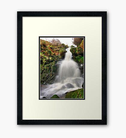Dunsop Bridge Waterfall Framed Print