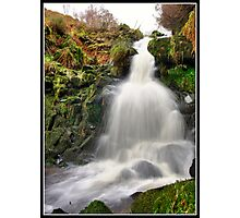 Dunsop Bridge Waterfall Photographic Print