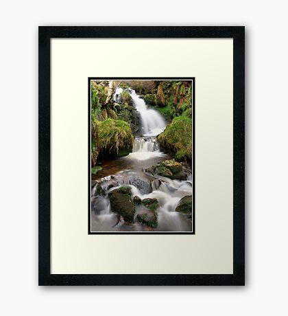 Dunsop Bridge Waterfall 2 Framed Print