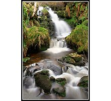 Dunsop Bridge Waterfall 2 Photographic Print