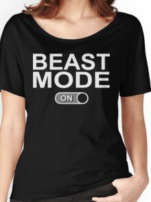 Beast Mode On Funny Geek Nerd Women's Relaxed Fit T-Shirt