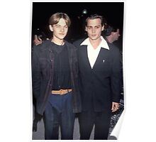 young Leo and Johnny Poster