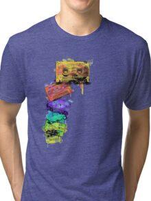Watercolour Tapes Tri-blend T-Shirt