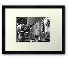 Broadway #2 Framed Print