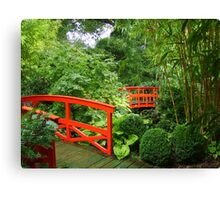 Japanese Bridges Canvas Print
