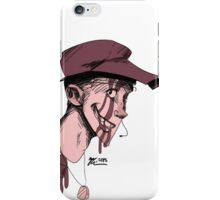Bloody Red Scout iPhone Case/Skin