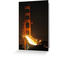 Golden Rush Hour Greeting Card