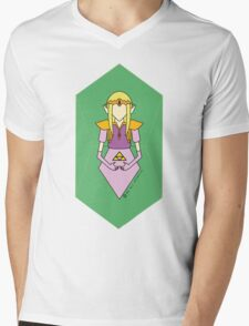 Zelda  Mens V-Neck T-Shirt