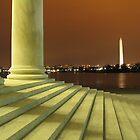 Jefferson's View of Washington by brandonsorrell