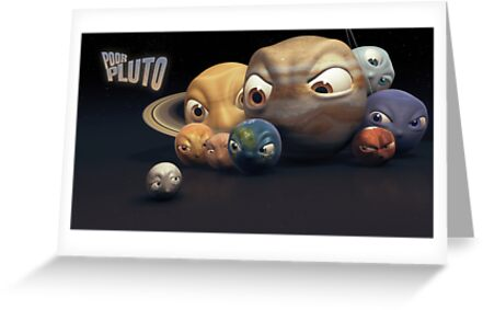 Poor Pluto by Mathias Pedersen