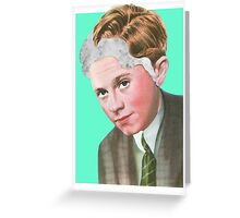 TOO MUCH ON MY MIND. Greeting Card