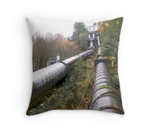 Old Pipes Throw Pillow
