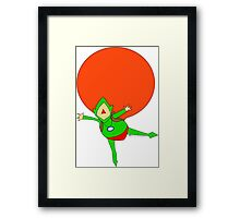 TINGLE~ Framed Print