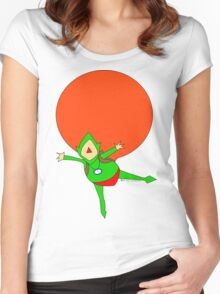 TINGLE~ Women's Fitted Scoop T-Shirt