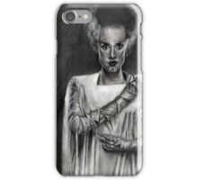 The Bride of Frankenstein iPhone Case/Skin
