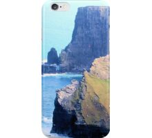 The Cliffs of Moher iPhone Case/Skin