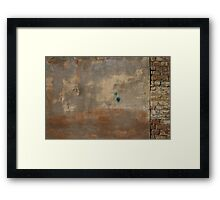 Factory Wall Framed Print