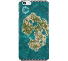 Pirate Adventure Map iPhone Case/Skin
